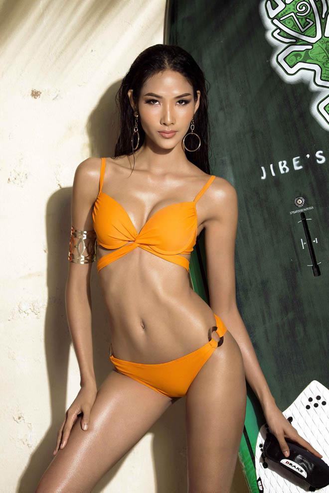Bật mí cô gái đang đặt ái mộ nhất ở Hoa hậu hĩ Hoàn vũ VN - 1