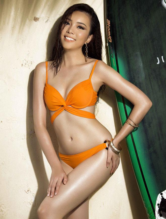 Bật mí cô gái đang đặt ái mộ nhất ở Hoa hậu hĩ Hoàn vũ VN - 9