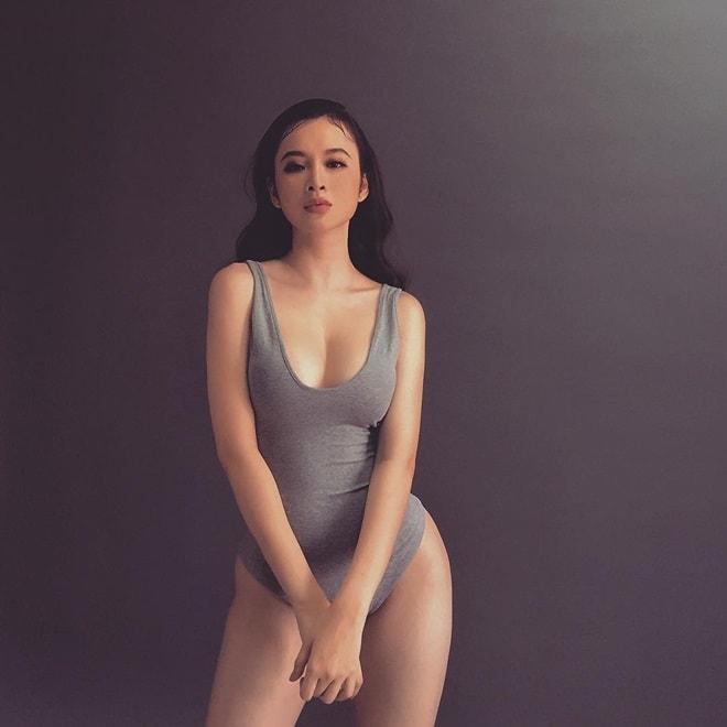 """Áo tắm thì thượng suy tôn thân ảnh """"bom sex"""" ngữ Angela Phương Trinh - 11"""