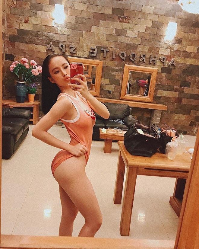 """Áo tắm thì thượng suy tôn thân ảnh """"bom sex"""" ngữ Angela Phương Trinh - 9"""