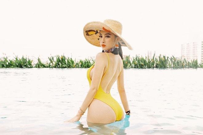 """Áo tắm thì thượng suy tôn thân ảnh """"bom sex"""" ngữ Angela Phương Trinh - 10"""