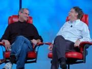 Steve Jobs và Bill Gates: Mối quan hệ tình - thù kỳ thú của làng công nghệ