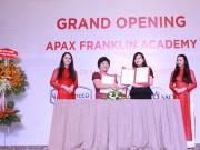 Apax Franklin Academy tiếp tục ra mắt trung tâm thứ 2 tại Tp Hồ Chí Minh
