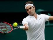 """Federer - Sugita:  """" Tàu tốc hành """"  nóng máy, mở hàng 2018"""