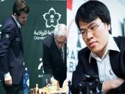 """Thể thao - Vua cờ kém Quang Liêm 17 bậc: """"Làm loạn"""" giải triệu đô, đuổi trọng tài"""