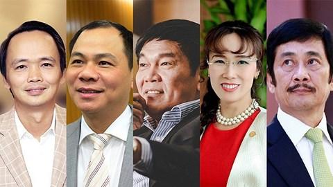 Ông Trịnh Văn Quyết giàu nhất sàn chứng khoán Việt Nam năm 2017 - 1