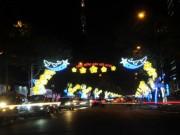 """Trung tâm Sài Gòn  """" khoác áo mới """"  trước thời khắc chào đón năm mới 2018"""