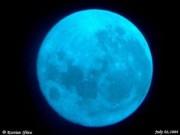 Tháng 1/2018, lần lượt xuất hiện Mặt trăng Sói và Mặt trăng xanh