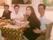 Hà Hồ ngồi trong lòng Kim Lý khi đến thăm nhà Lý Quý Khánh