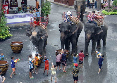 Lễ hội Songkran Thái Lan - 2