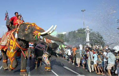 Lễ hội Songkran Thái Lan - 6