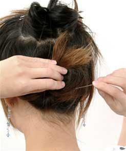 Các kiểu búi tóc hiện đại - 2