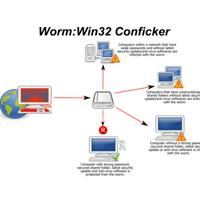 Sâu máy tính nguy hiểm nhất 2009 tái xuất vào 1/4