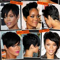 Thời trang tóc ngắn với ngôi sao Rihanna