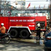 Tp.HCM: Cháy chợ Nhật Tảo