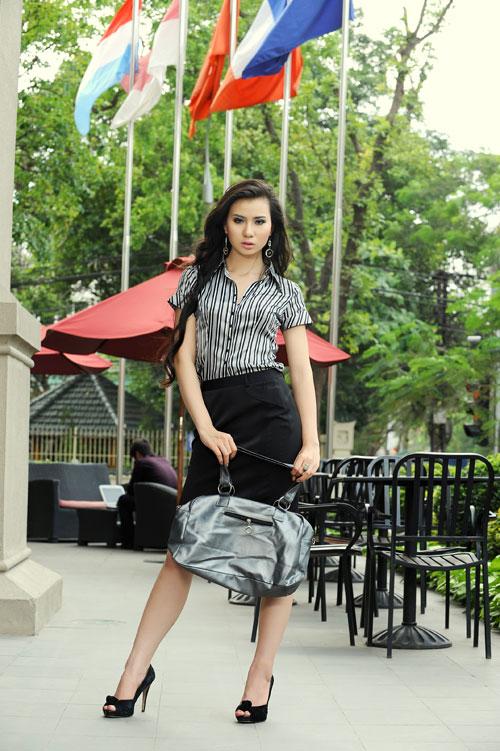 Thời trang Lihan - Quý cô xinh đẹp nơi công sở - 3