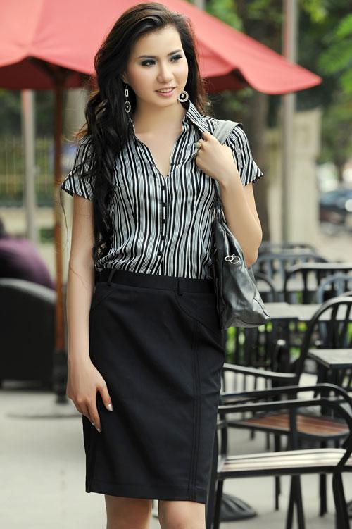 Thời trang Lihan - Quý cô xinh đẹp nơi công sở - 4