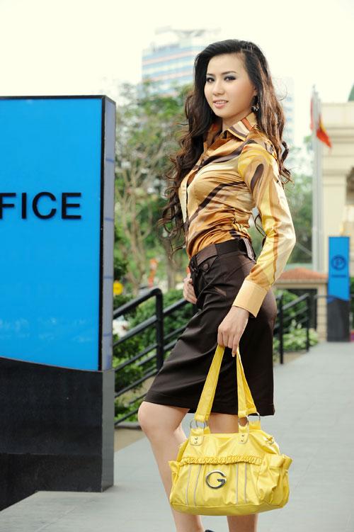 Thời trang Lihan - Quý cô xinh đẹp nơi công sở - 5