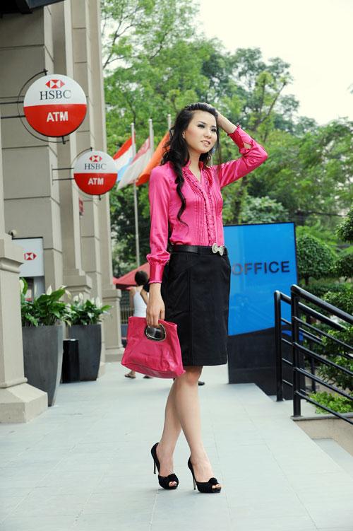Thời trang Lihan - Quý cô xinh đẹp nơi công sở - 7