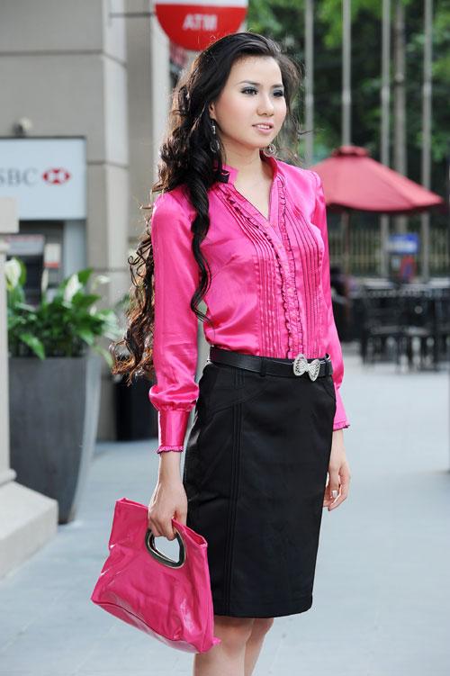 Thời trang Lihan - Quý cô xinh đẹp nơi công sở - 8