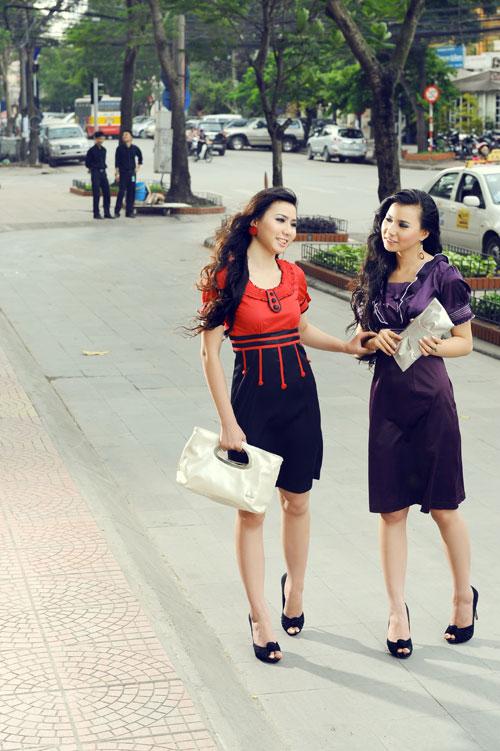 Thời trang Lihan - Quý cô xinh đẹp nơi công sở - 12