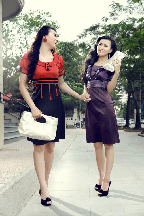 Thời trang Lihan - Quý cô xinh đẹp nơi công sở - 11