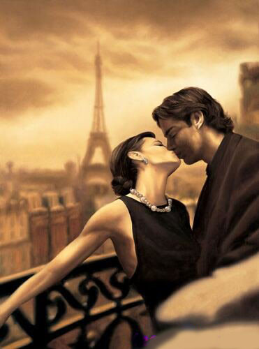 Tranh vui: Khi hôn, tay để ở đâu? - 2