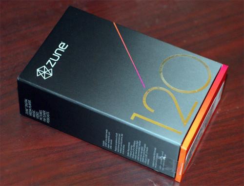 """""""Đập hộp"""" Zune 120 GB - 2"""