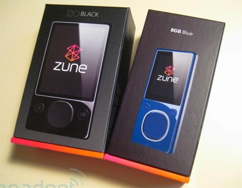 """""""Đập hộp"""" Zune 120 GB - 17"""