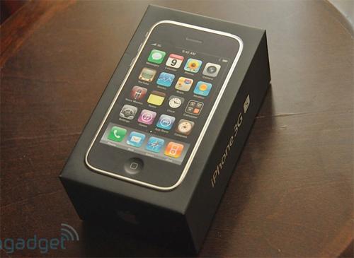 """Đập hộp"" iPhone 3Gs - 1"