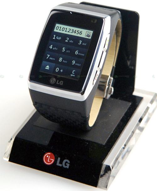 Đồng hồ điện thoại cảm ứng 3G đầu tiên trên thế giới - 10
