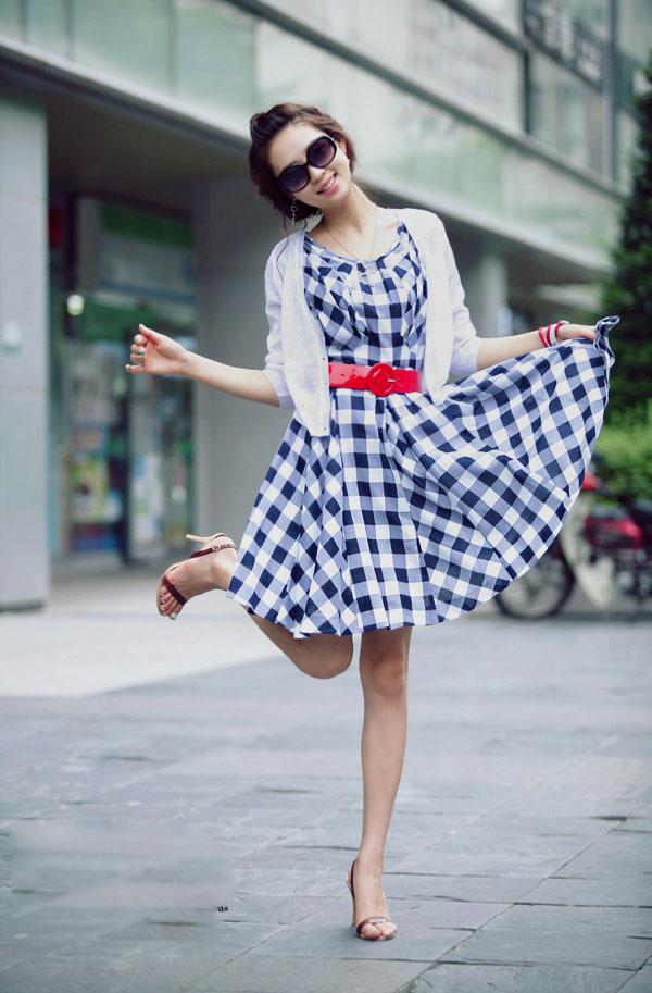 Váy chữ A... khiến lòng xao xuyến! - 15