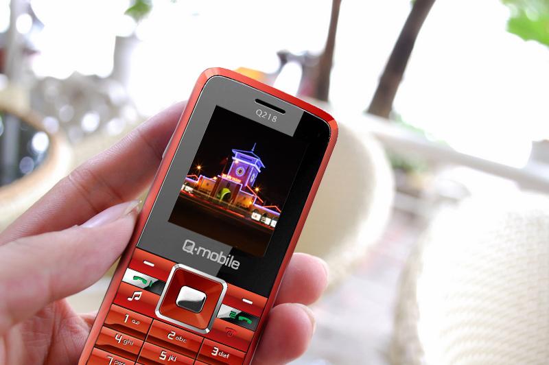 """""""Q-mobile Q218 pin cực khủng, nhạc cực hay"""" - 1"""