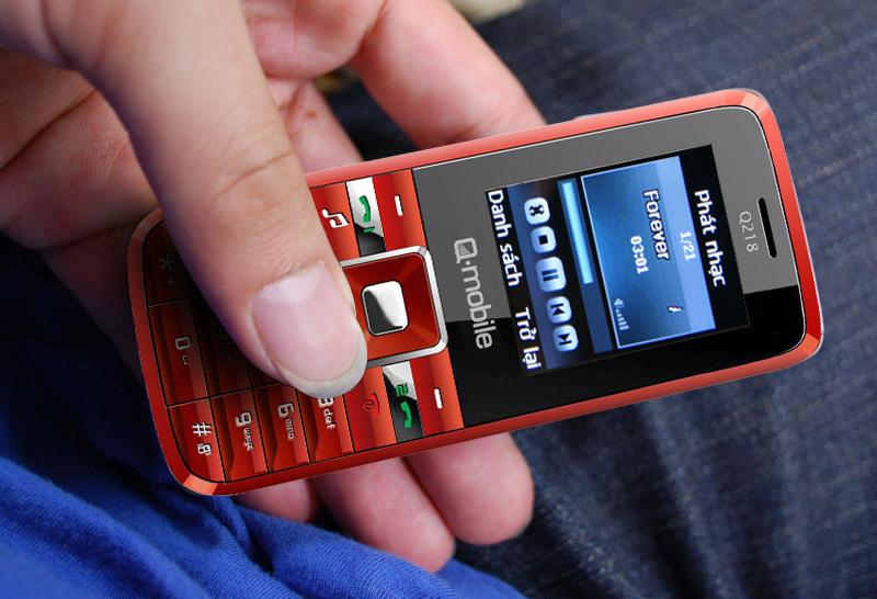 """""""Q-mobile Q218 pin cực khủng, nhạc cực hay"""" - 2"""