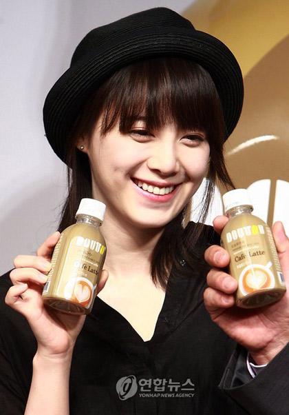 Goo Hye Sun xinh tươi đi bán... cà phê - 2
