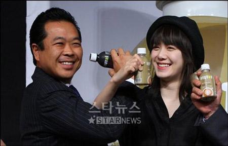 Goo Hye Sun xinh tươi đi bán... cà phê - 3