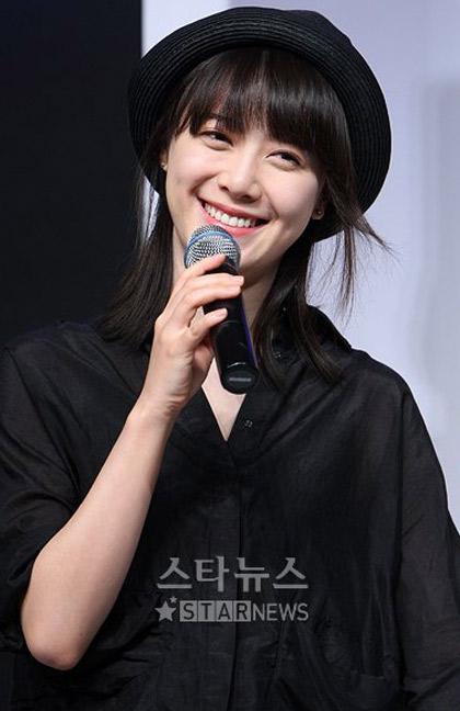 Goo Hye Sun xinh tươi đi bán... cà phê - 7