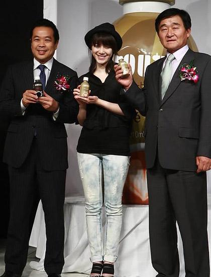 Goo Hye Sun xinh tươi đi bán... cà phê - 8