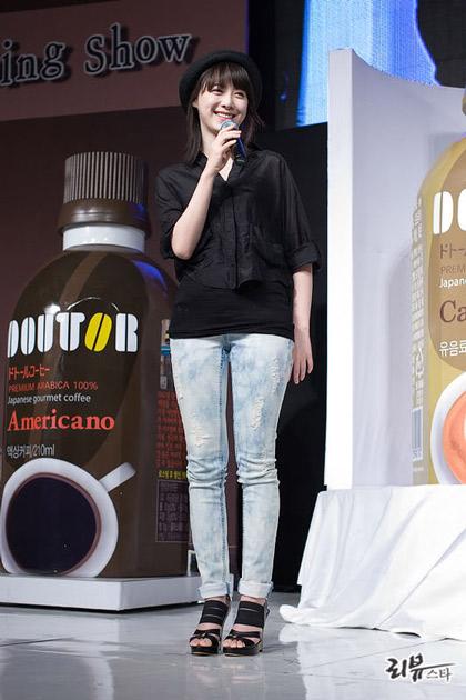 Goo Hye Sun xinh tươi đi bán... cà phê - 9