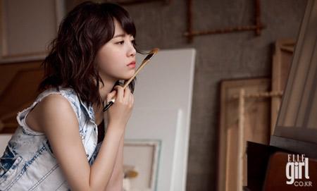 Goo Hye Sun xinh tươi đi bán... cà phê - 15