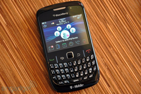 'Đập hộp' BlackBerry Curve mới nhất - 12