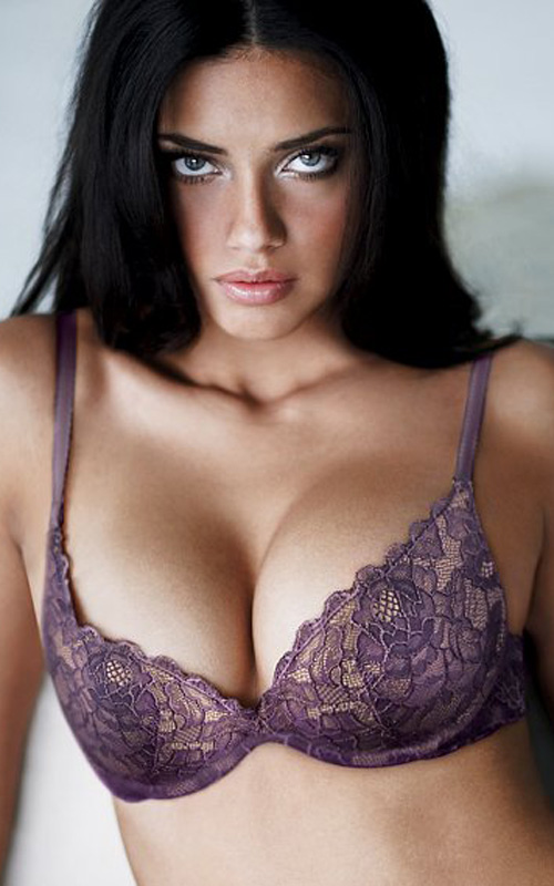 Ngắm siêu mẫu Adriana Lima khêu gợi với nội y - 7