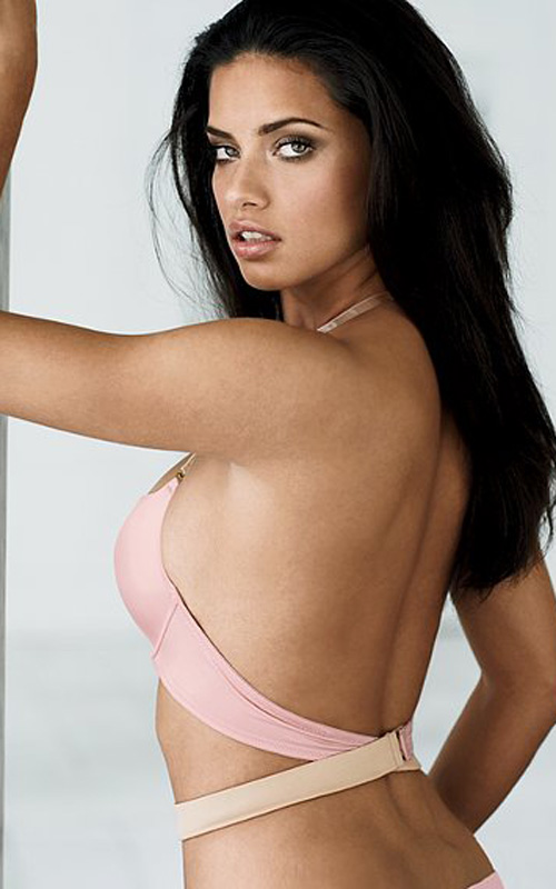 Ngắm siêu mẫu Adriana Lima khêu gợi với nội y - 8
