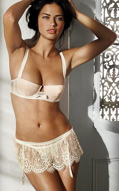 Ngắm siêu mẫu Adriana Lima khêu gợi với nội y - 5