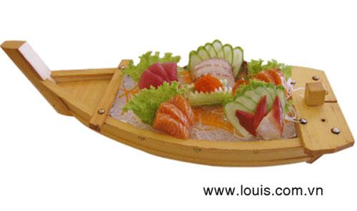 Thưởng thức sashimi tại nhà hàng Louis - 7