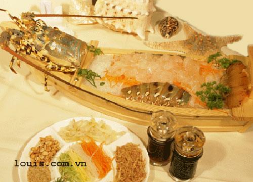 Thưởng thức sashimi tại nhà hàng Louis - 8