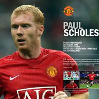 Top 10 bàn thắng đẹp của tiền vệ Paul Scholes