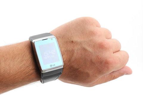 Điện thoại đồng hồ của LG - 2