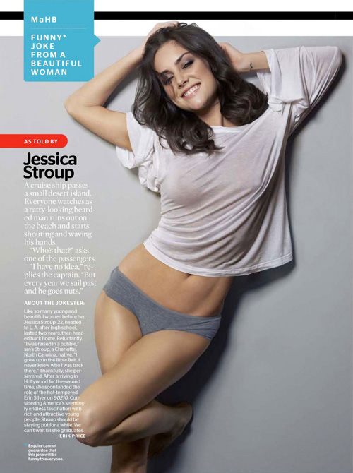 Jessica Stroup: C gi y ma lc, Phim, Jessica Stroup, ma lc, ngi mu, ca s, din vin, Esquire, ng cong