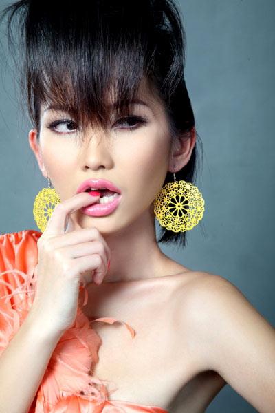 3 kiểu tóc mùa đi tiệc của diễn viên Kim Hiền! - 3